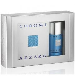 Azzaro Set Chrome M 100ml edt + 75ml Stick