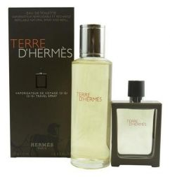 Hermes Set Terre D´ Hermes M 125ml edt refill + 30ml edt