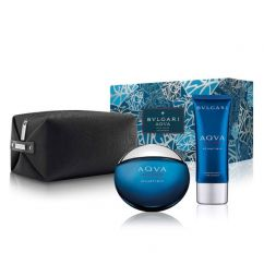 Bvlgari Set Aqua Atlantiqve 2017 M edt 100ml + 100ml AS + pouch