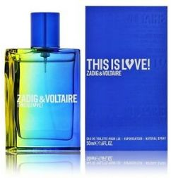 Zadig & Voltaire This is Love for Him 2020 M edt 50ml