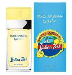 D.G. Light Blue Italian Zest 2018 W edt 50ml